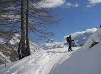 guided walking in queyras in French alps